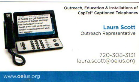 OEI Laura Scott CapTel